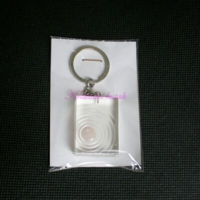Privezak za ključeve RP001RKV roze kvarc