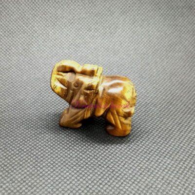 Figurica slon FU001TOK tigrovo oko