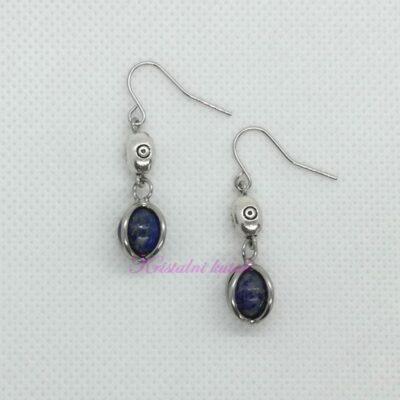 Minđuše M014LAL lapis lazuli