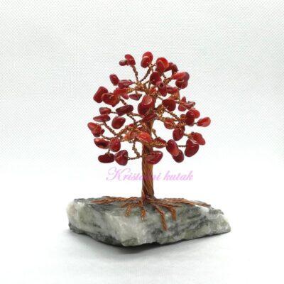 Ukrasno drvce manje DU001KOR crveni koral