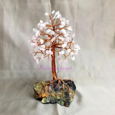 Ukrasno drvce srednje DU002RKV roze kvarc