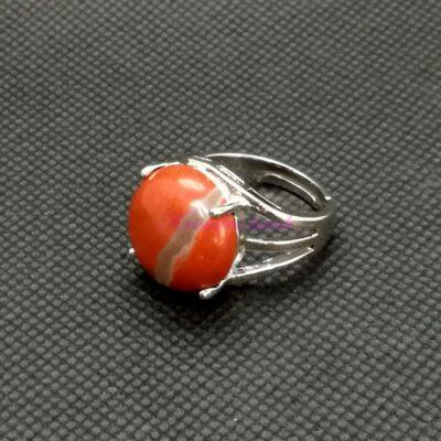 Prsten R016JAC crveni jaspis