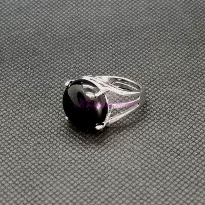 Prsten R016ONX crni oniks