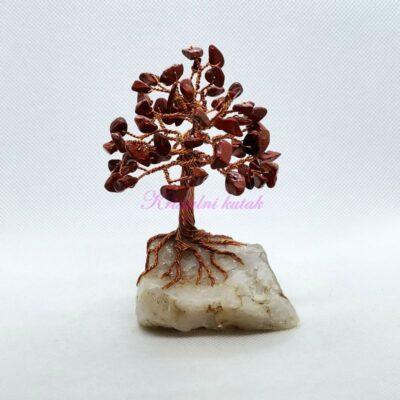 Ukrasno drvce manje DU001JAC crveni jaspis