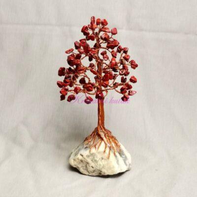 Ukrasno drvce srednje DU002JAC crveni jaspis